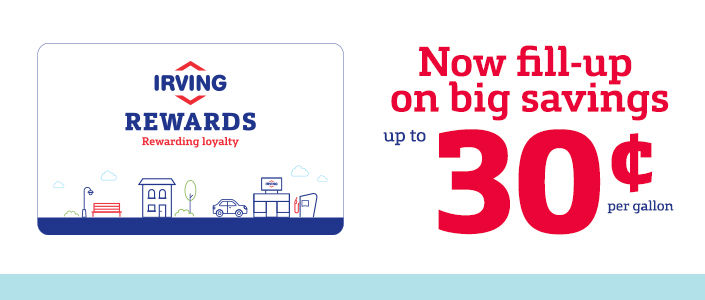 cheap irving oil convenient gas station locations rewards programs and dealer with efs cambronne - Irving Rewards Card